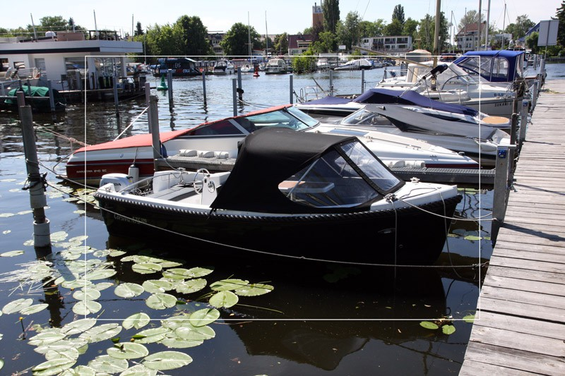 "Tiny House ""No. 1"" an der Berliner Havel - 15 PS Motorboot (optional)"