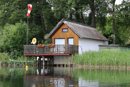 Bootshaus am Krakower See