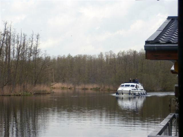 Bootshaus bei Mirow - inkl. Ruderboot - Motor (optional)